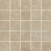 "Indiana Stone 2"" x 2"" Floor and Wall Mosaic in Beige"