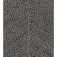 "Lido 2"" x 6"" Floor and Wall Mosaic in Black"