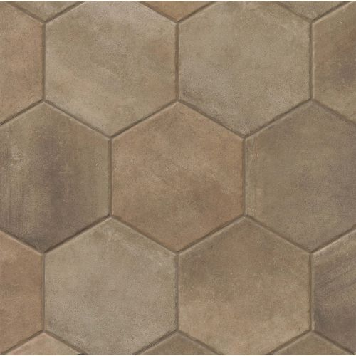"Native 13.5"" x 13.5"" Floor & Wall Tile in Dark"