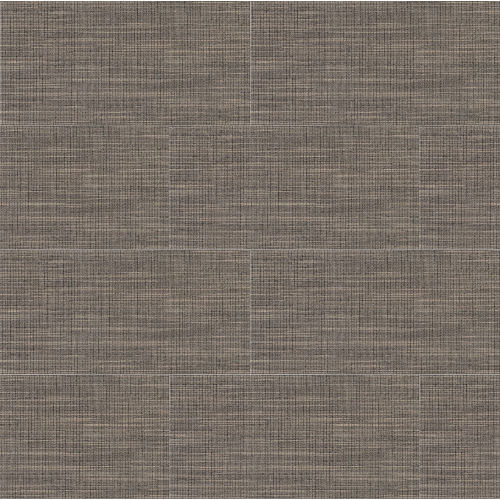 "Tailor Art 12"" x 24"" Floor & Wall Tile in Brown"