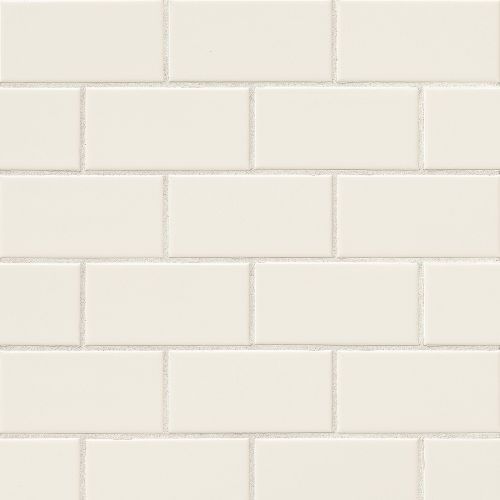 "Traditions 3"" x 6"" x 1/4"" Wall Tile in Biscuit"