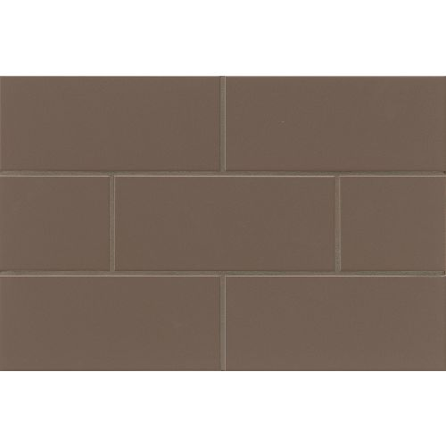 "Traditions 4"" x 10"" Wall Tile in Cocoa"