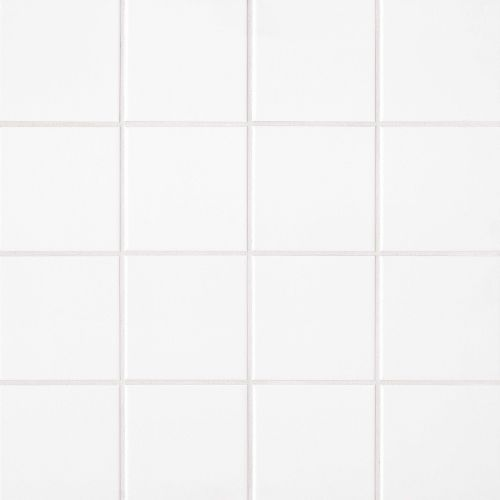 "Traditions 6"" x 6"" Wall Tile in Ice White"