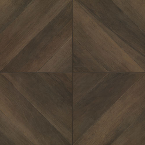 "Antique 24"" x 24"" Floor & Wall Tile in Wenge"