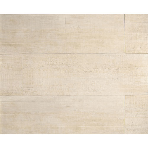 "Barrique 8"" x 24"" x 3/8"" Floor and Wall Tile in Blanc"