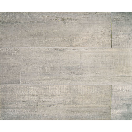 "Barrique 8"" x 24"" Floor & Wall Tile in Gris"