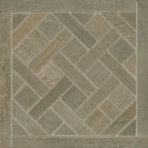 Barrique Floor and Wall Mosaic in Gris