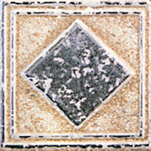 "Forge 2"" x 2"" Decorative Tile in Gold"