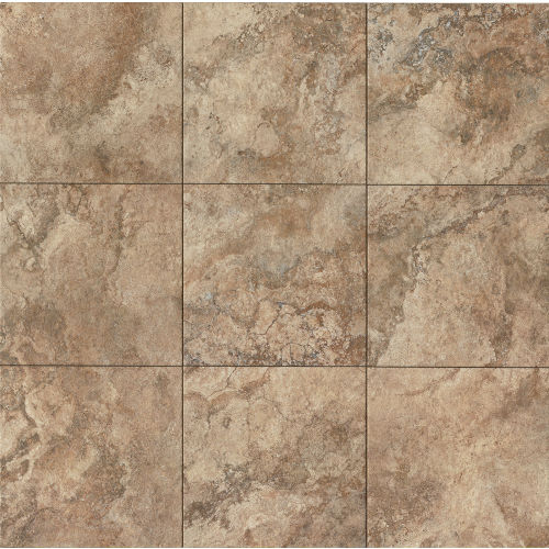 "Forge 13"" x 13"" Floor & Wall Tile in Walnut"