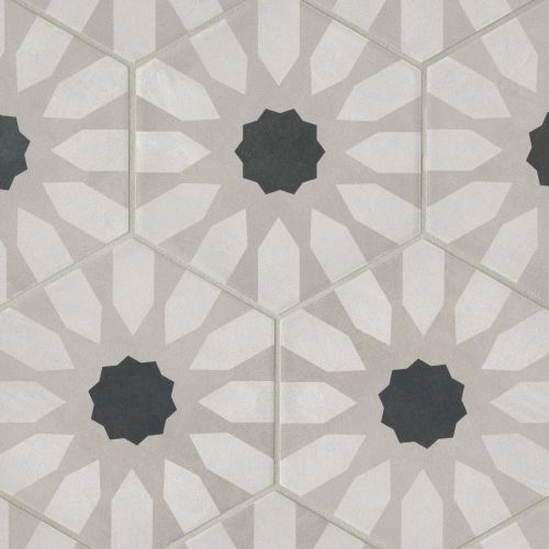 "Allora 8.5"" x 10"" Floor & Wall Tile in Fiore"