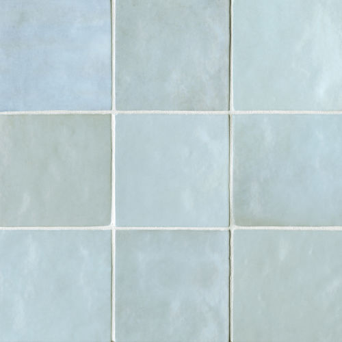 "Cloe 5"" x 5"" Wall Tile in Baby Blue"
