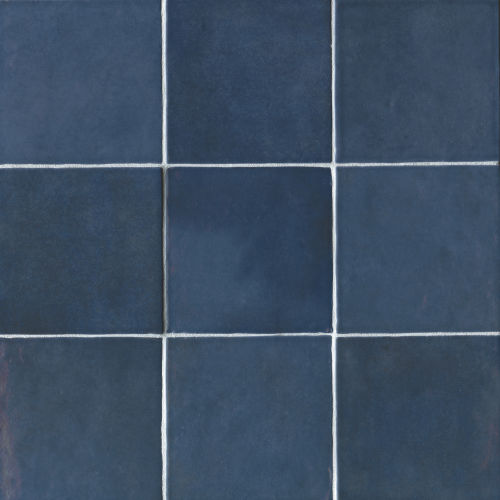 "Cloe 5"" x 5"" Wall Tile in Blue"