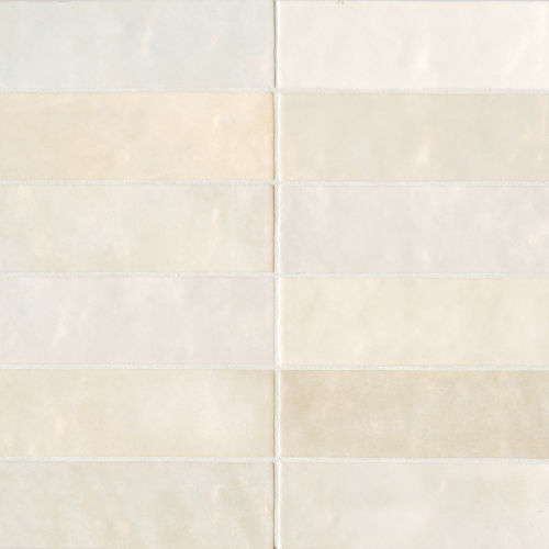 "Cloe 2.5"" x 8"" Wall Tile in Creme"