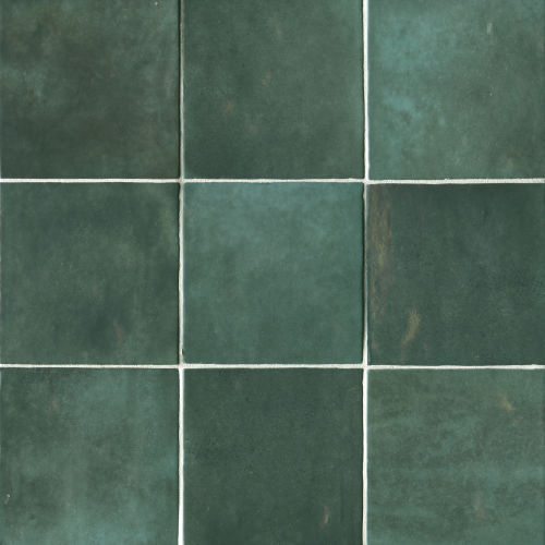 "Cloe 5"" x 5"" Wall Tile in Green"