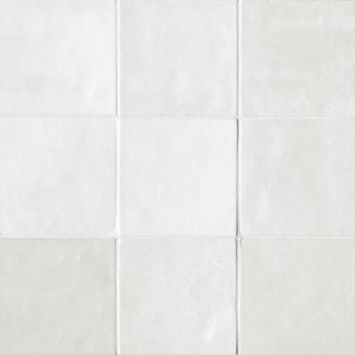 "Cloe 5"" x 5"" Wall Tile in White"