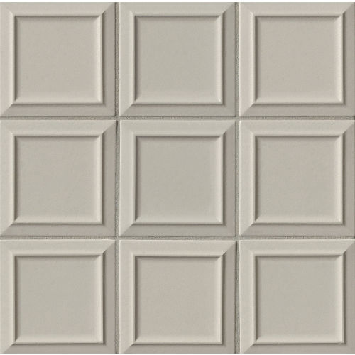 "Costa Allegra 6"" x 6"" Decorative Tile in Cinder"