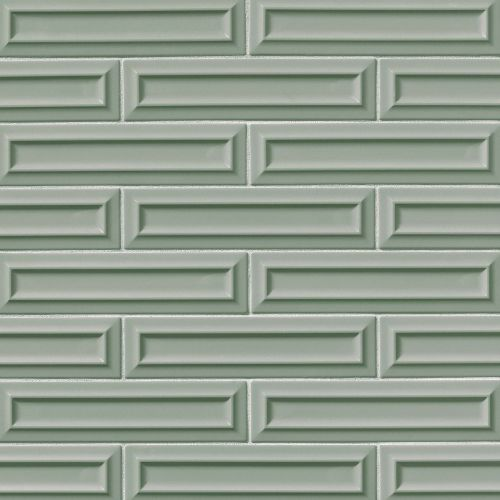 "Costa Allegra 3"" x 12"" Decorative Tile in Gulf"