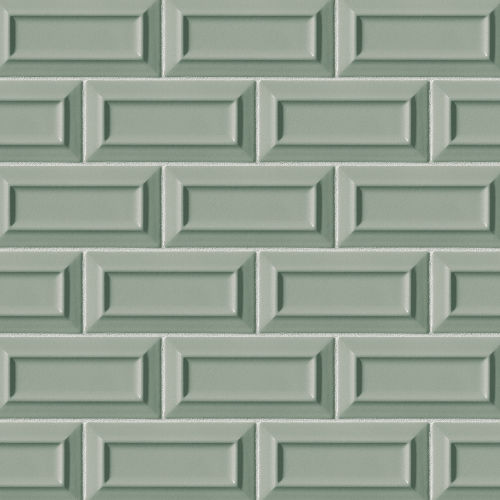 "Costa Allegra 3"" x 6"" Decorative Tile in Gulf"