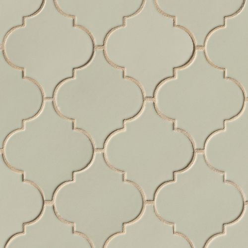 Costa Allegra Floor & Wall Mosaic in Silver Strand