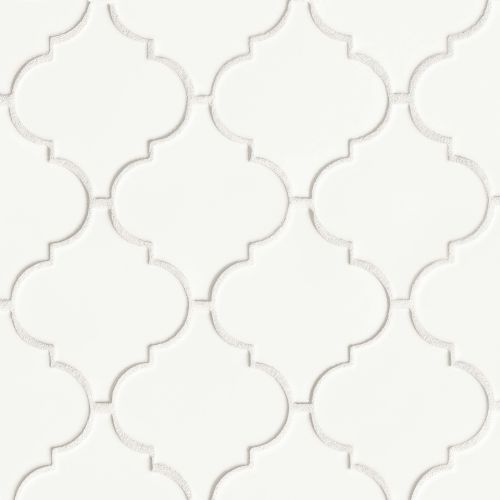 "Costa Allegra 5-1/4"" x 4-5/8"" Floor & Wall Mosaic in White Sand"