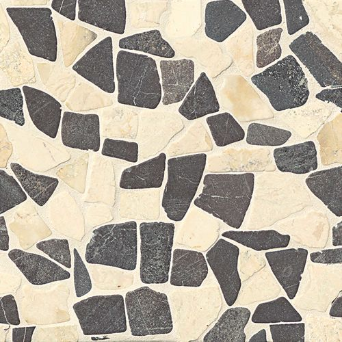 Hemisphere Floor & Wall Mosaic in Baltra Blend