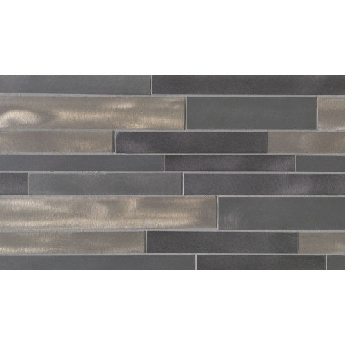 Montane Wall Mosaic in Coal
