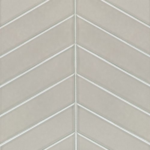 "Provincetown 2.5"" x 9"" x 3/8"" Floor and Wall Tile in Dolphin Grey"