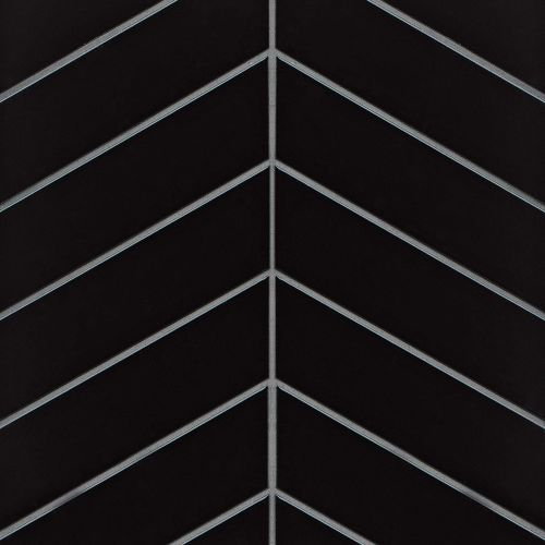 "Provincetown 2.5"" x 9"" Floor & Wall Tile in Fleet Black"