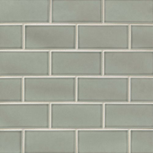 "Provincetown 3"" x 6"" Floor & Wall Tile in Monument Grey"