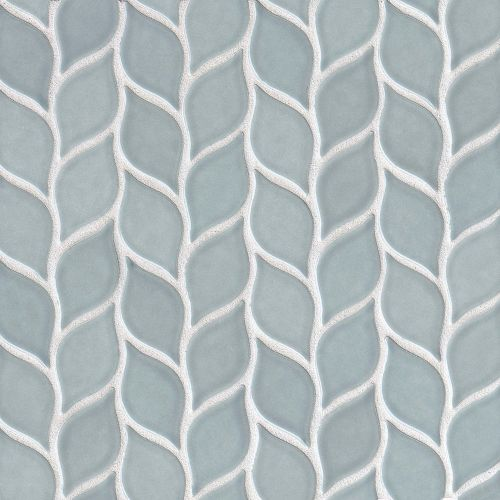"Provincetown 2-13/16"" x 1-7/16"" Floor and Wall Mosaic in Surfside Blue"