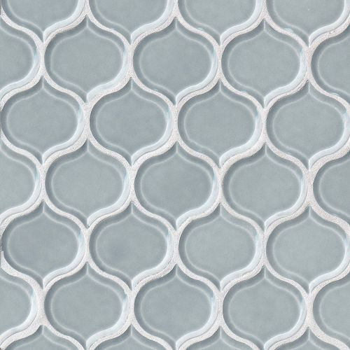 "Provincetown 3-1/16"" x 2-7/8"" Wall Mosaic in Surfside Blue"