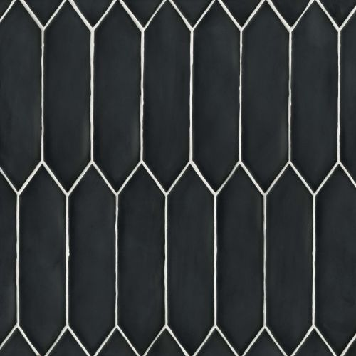 "Reine 3"" x 12"" Wall Tile in Black"
