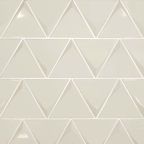 "Triangolo 4.5"" x 5"" Wall Tile in Fog"
