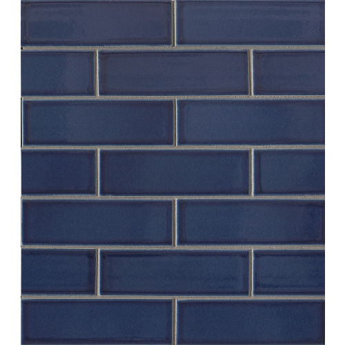 "Zenith 2"" x 6"" Floor & Wall Mosaic in Tide"