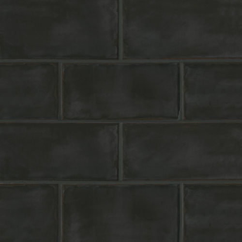 "Chateau 4"" x 8"" Floor & Wall Tile in Midnight"