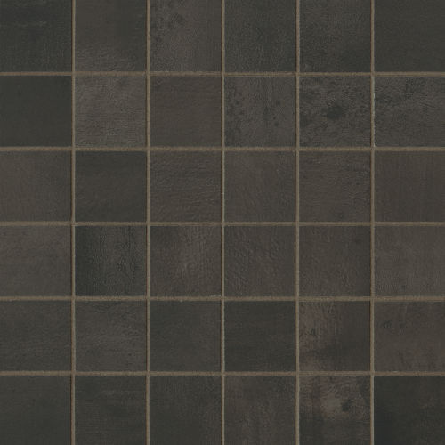 "Chateau 2"" x 2"" Floor & Wall Mosaic in Tobacco"
