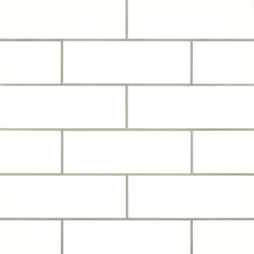 "Grace 4"" x 12"" Wall Tile in Bianco"
