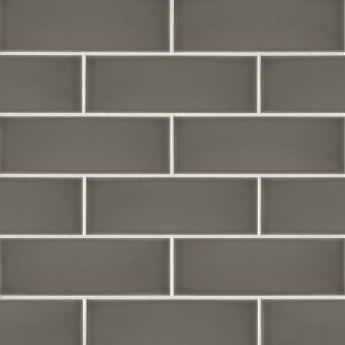 "Grace 4"" x 12"" x 1/4"" Wall Tile in Moka"