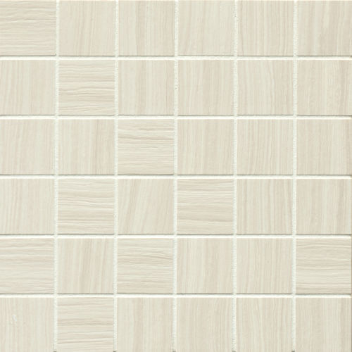 "Matrix 2"" x 2"" Floor & Wall Mosaic in Bright"