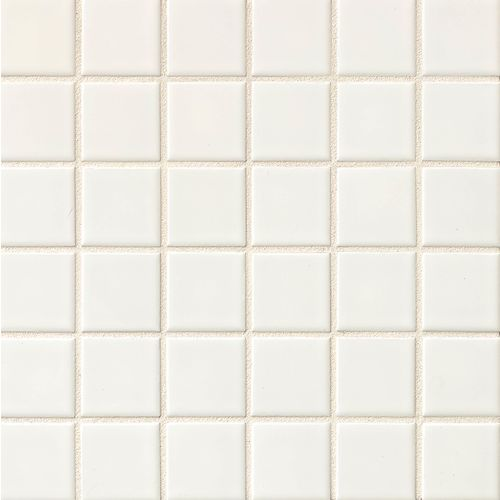 Elements Floor & Wall Mosaic in White