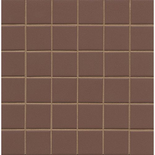 Elements Floor & Wall Mosaic in Brown