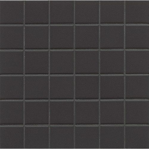 Elements Floor & Wall Mosaic in Carbon