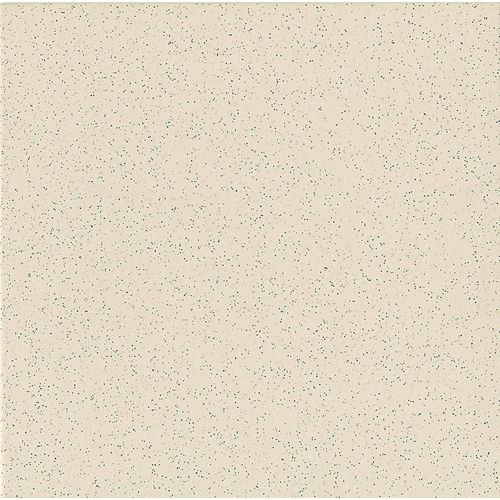 "Elements 12"" x 12"" Floor & Wall Tile in Super White - Mottled"
