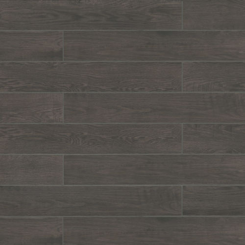 "Woodmark 6.13"" x 35.69"" Floor & Wall Tile in Anthracite"