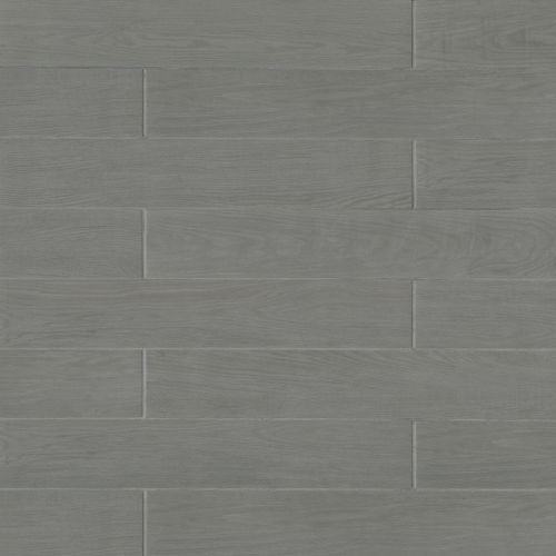 "Woodmark 6.13"" x 35.69"" Floor & Wall Tile in Grey"