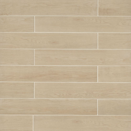 "Woodmark 6.13"" x 35.69"" Floor & Wall Tile in Light Oak"