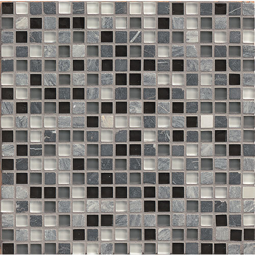 "Eclipse 5/8"" x 5/8"" Wall Mosaic in Vintage"