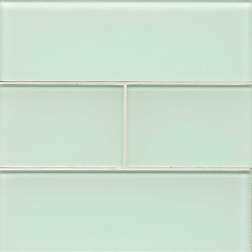"Hamptons 4"" x 12"" Wall Tile in Message in a Bottle"