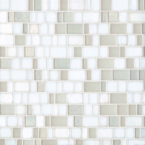 Kahakai Floor & Wall Mosaic in Coconut