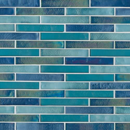 Kahakai Floor & Wall Mosaic in Deep Sea